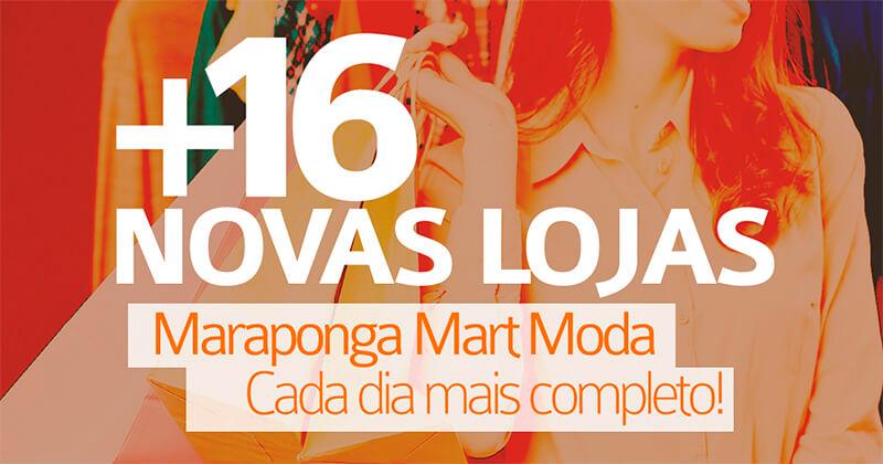 + 16 Novas Lojas